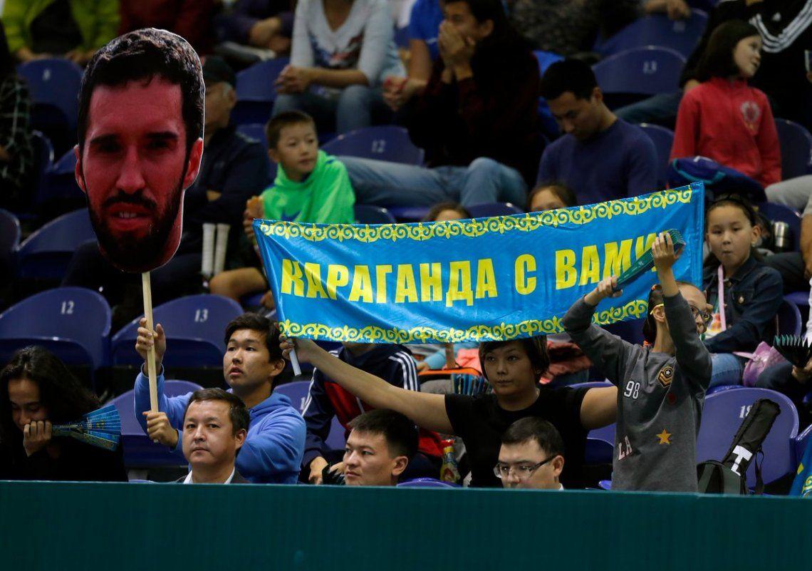 Schwartzman ganó y la serie ante Kazajistán quedó abierta