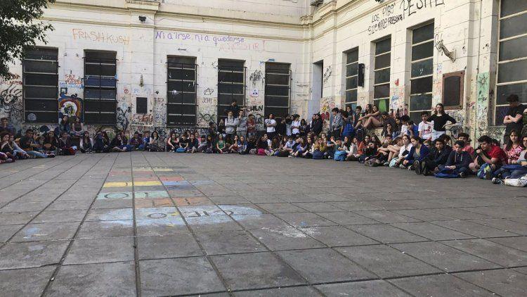 dYa son 30 los colegios tomados en la Ciudad contra la reforma educativa.