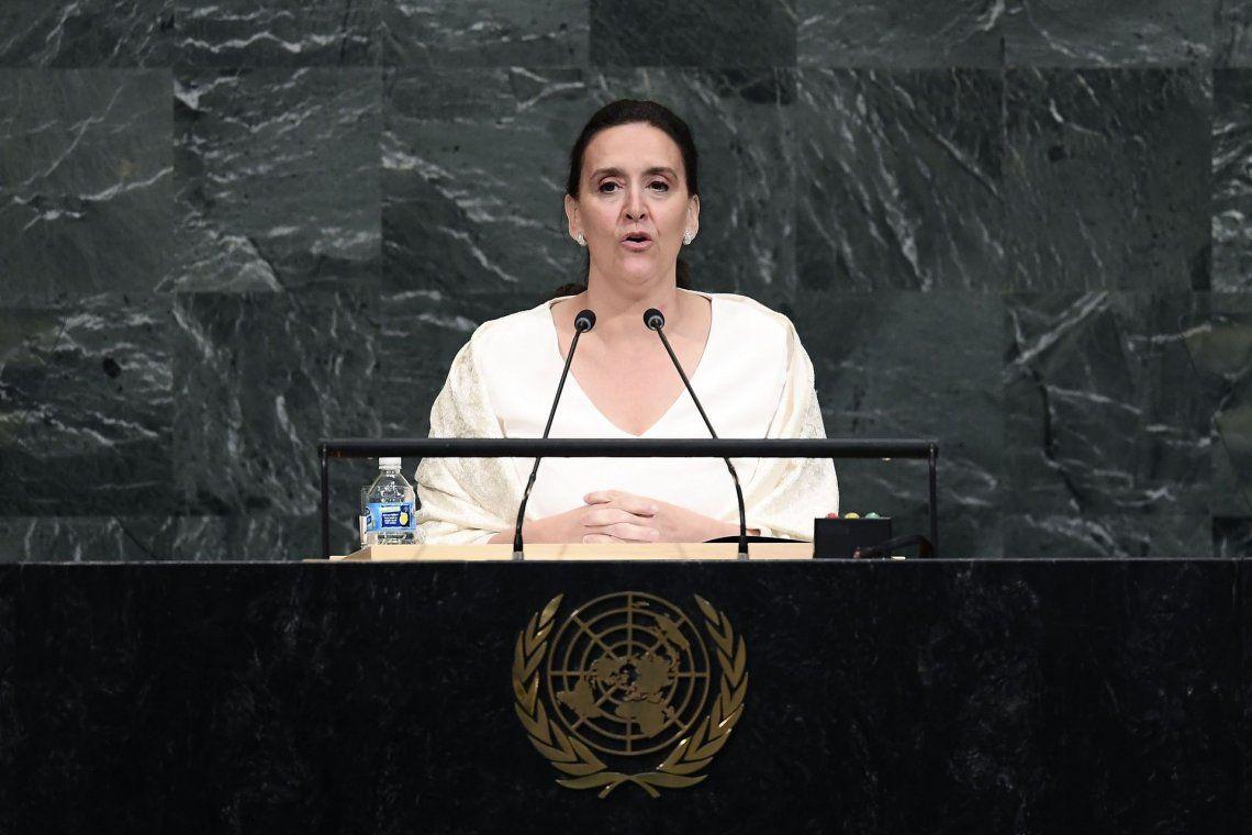 Michetti pidió negociar la soberanía de Malvinas y que Irán colabore en la causa AMIA