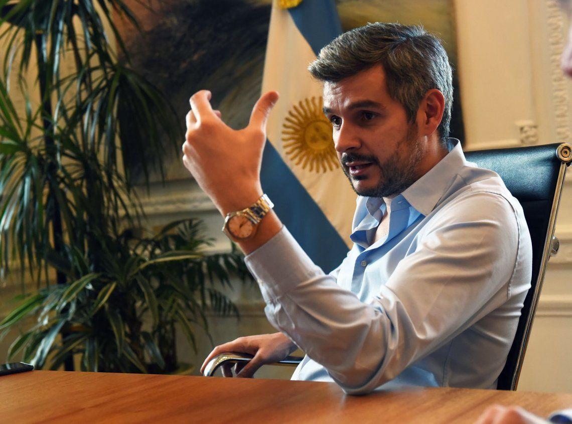 dMarcos Peña dijo que seguirán trabajando con el nuevo juez.