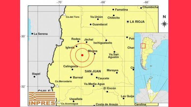 Un fuerte sismo sacudió a San Juan y se sintió en Mendoza