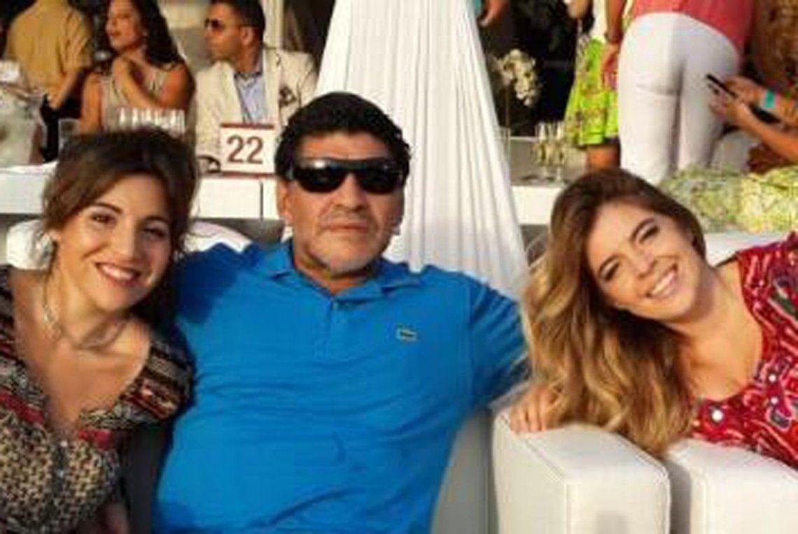 La durísima chicana de Gianinna a Diego Maradona por no querer asistir a la boda de Dalma