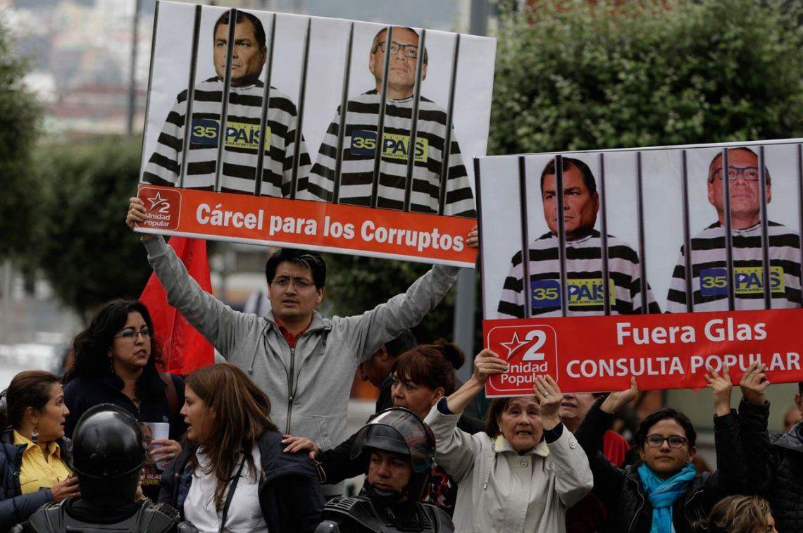 Odebrecht: dictaron prisión preventiva al vicepresidente de Ecuador