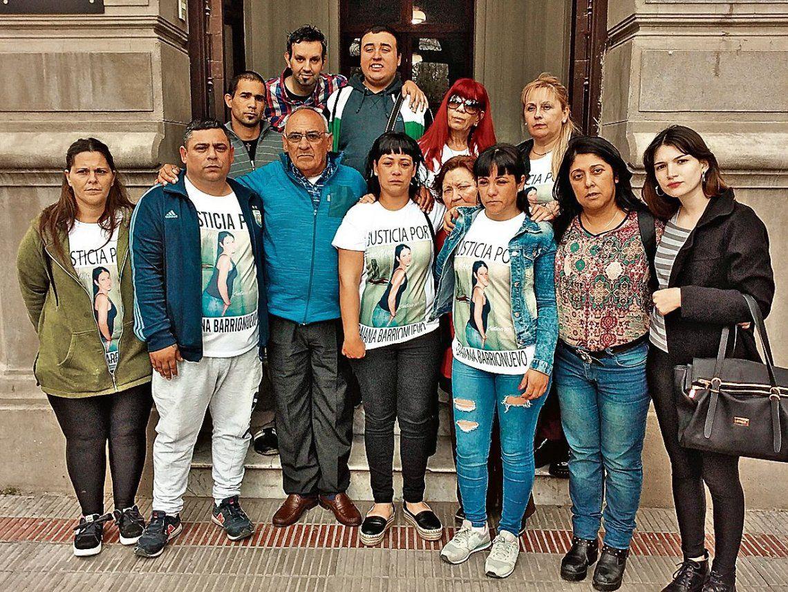 """dFamiliares y amigos en el juzgado de Mercedes. """"Sentimos que logramos justicia"""""""