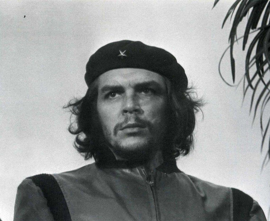 Ernesto Guevara retratado por Alberto Diaz Korda