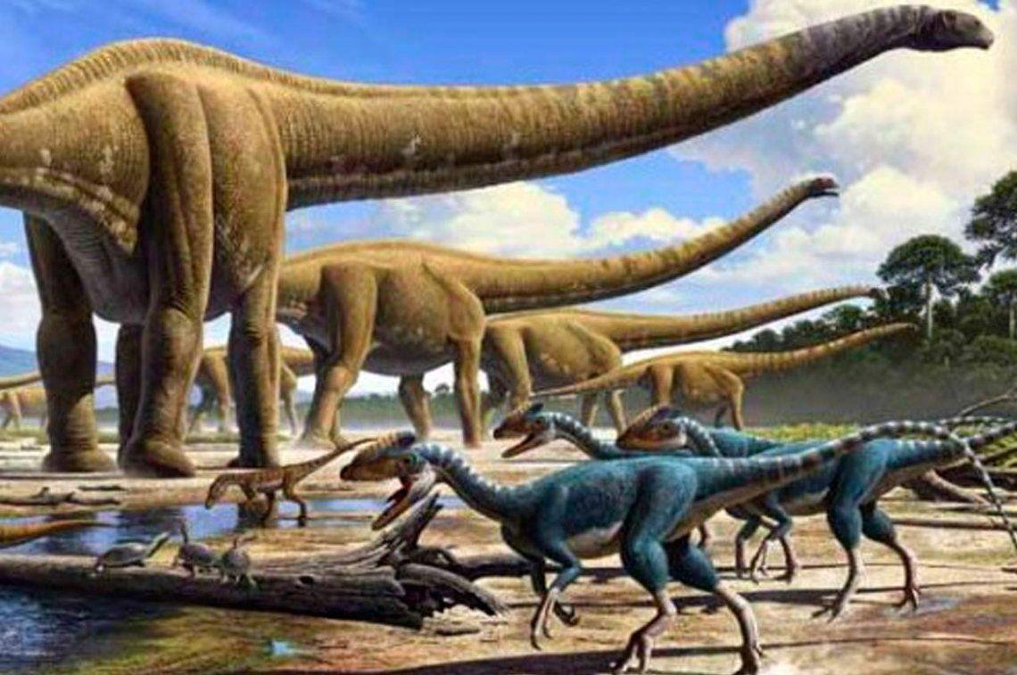 Encuentran huellas de dinosaurios del Cretásico en la Quebrada de Humahuaca