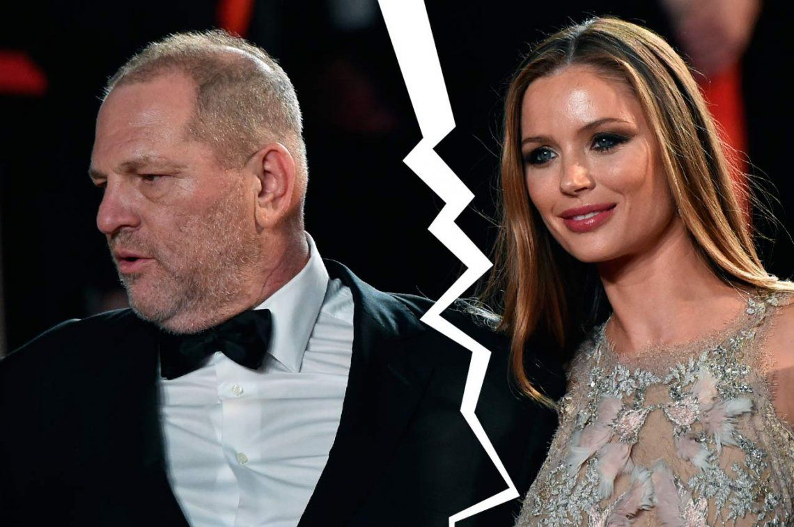 En medio del escándalo por múltiples abusos sexuales, a Harvey Weinstein lo dejó su esposa