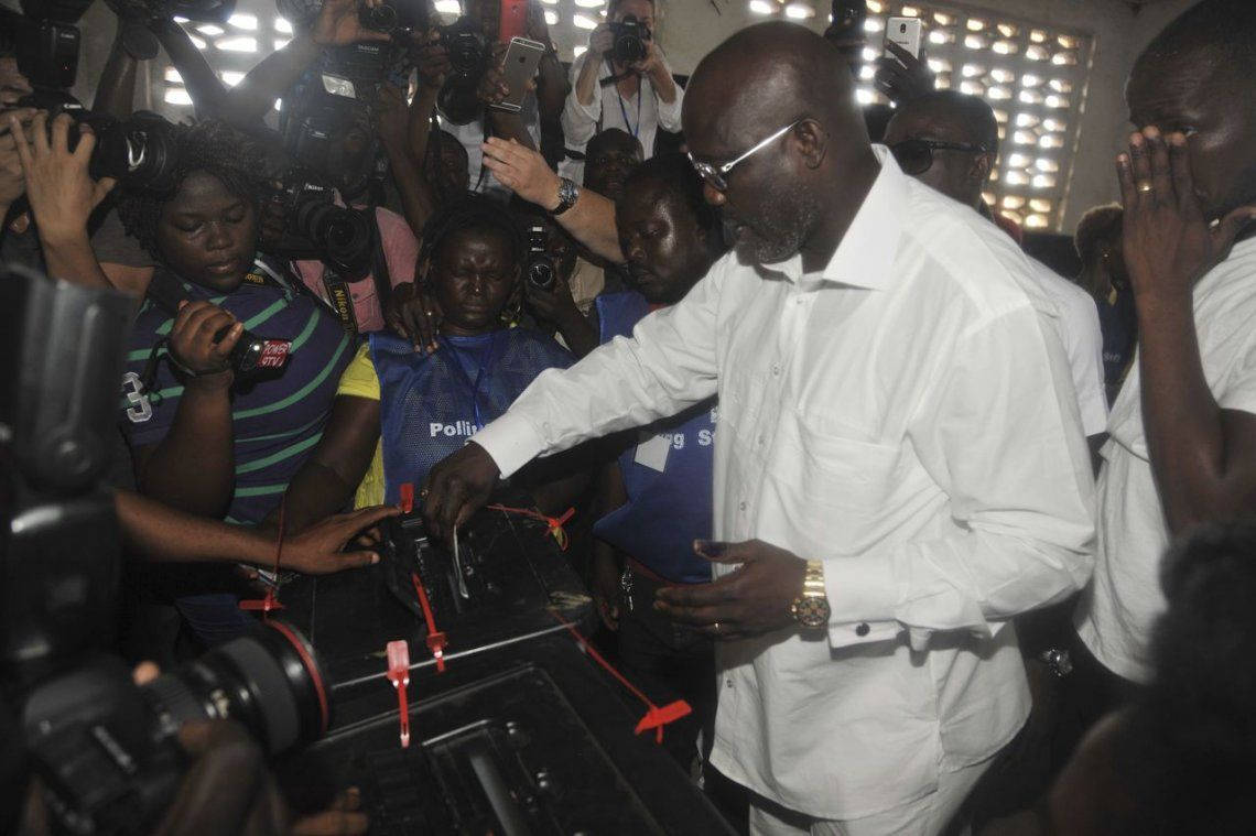 George Weah vuelve a intentarlo: se postuló a Presidente de Liberia