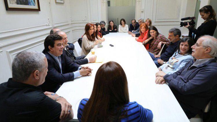 Cristina encabezó una reunión de Unidad Ciudadana de cara al futuro