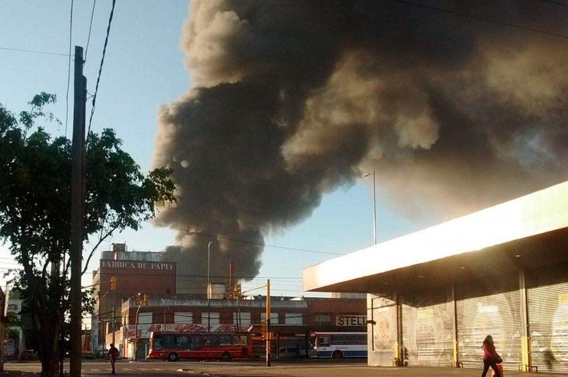 Murió el operario que estaba internado por el incendio en San Justo