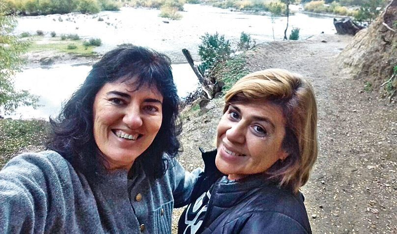 dGraciela Balestra y Laura Sanders