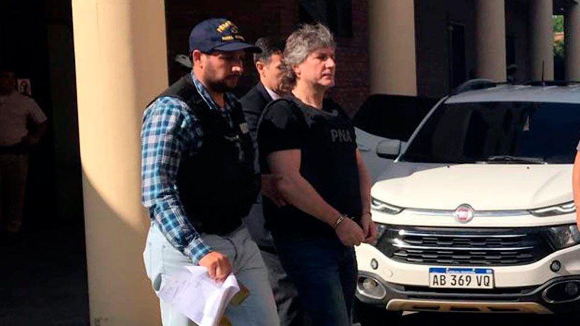 Detuvieron a Amado Boudou por enriquecimiento ilícito