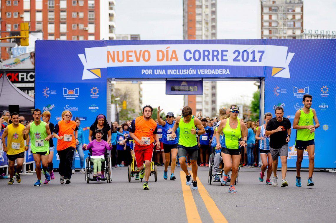 Exitosa participación en carrera por la integración en Ramos Mejía