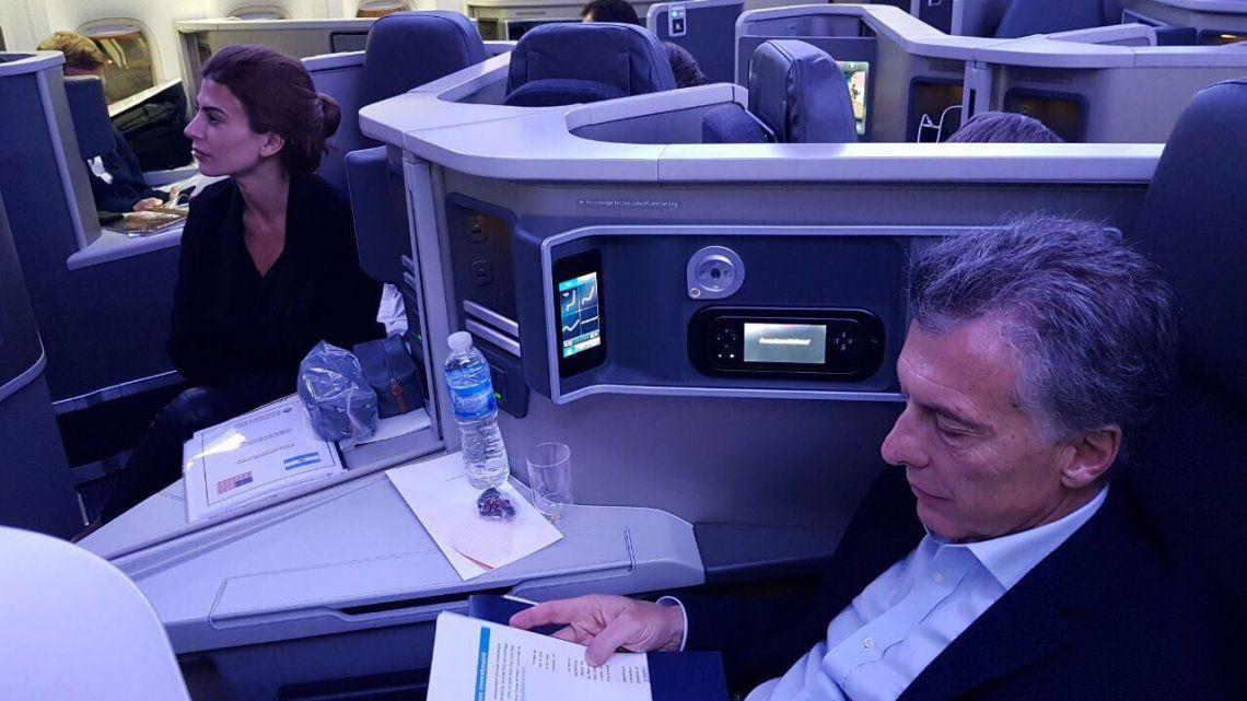 Mauricio Macri, sobre el paro de pilotos: No corresponde poner de rehenes a la gente