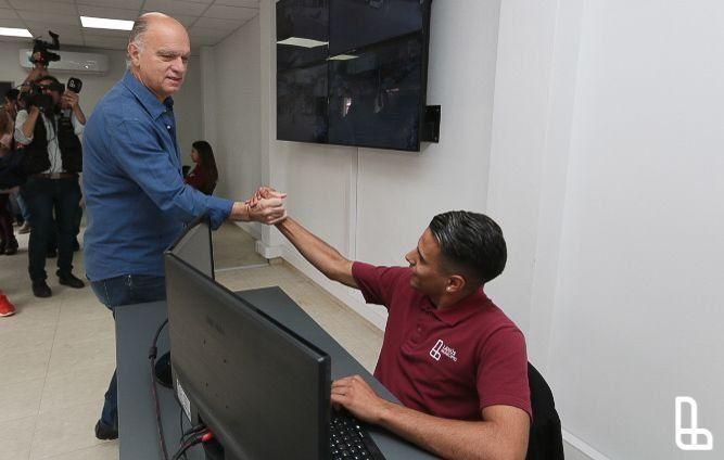Inauguraron Centro de Monitoreo Remoto en Lanús