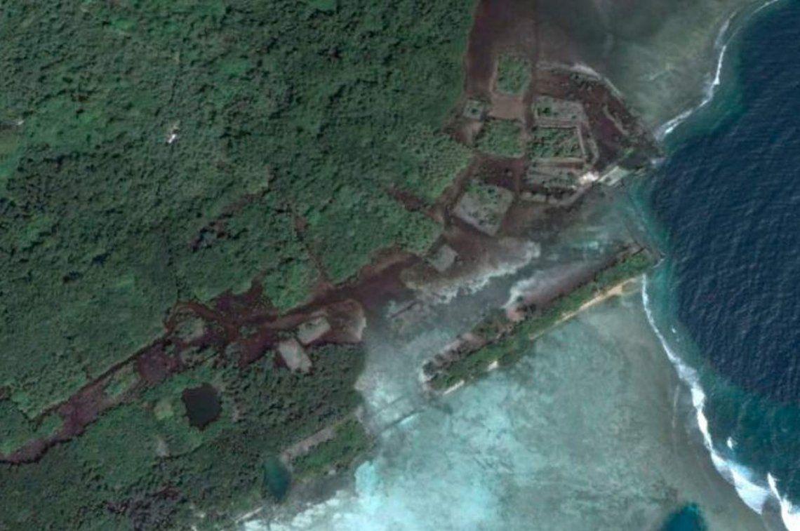 Investigan una misteriosa ciudad en medio del Océano Pacífico