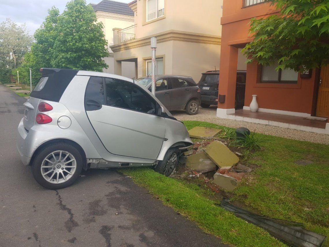 El auto de Hernán Piquín