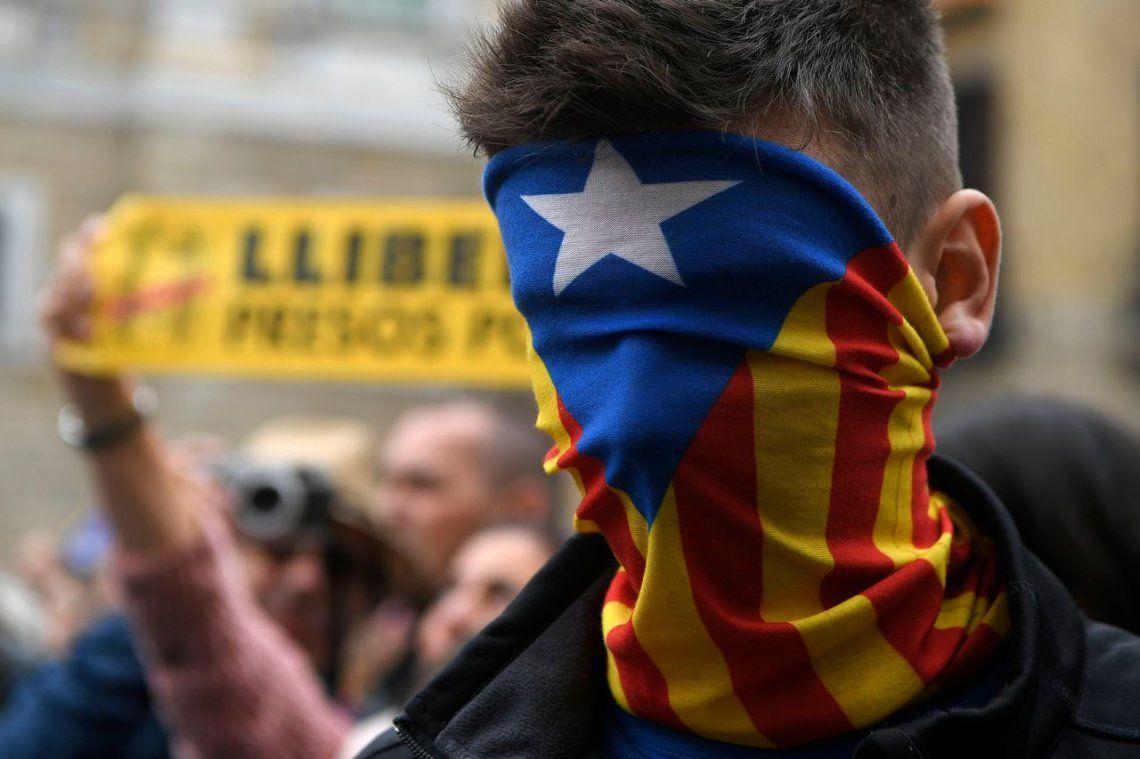 Las fotos de la huelga general en Cataluña