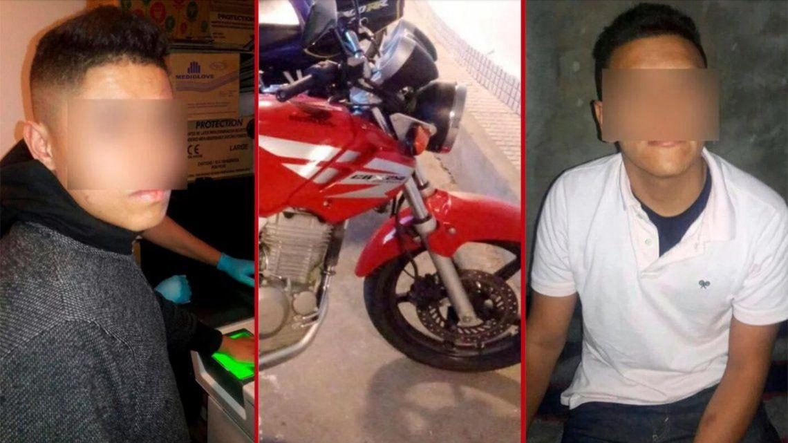 Detuvieron a dos motochorros sospechados de robarle a JorgeRial