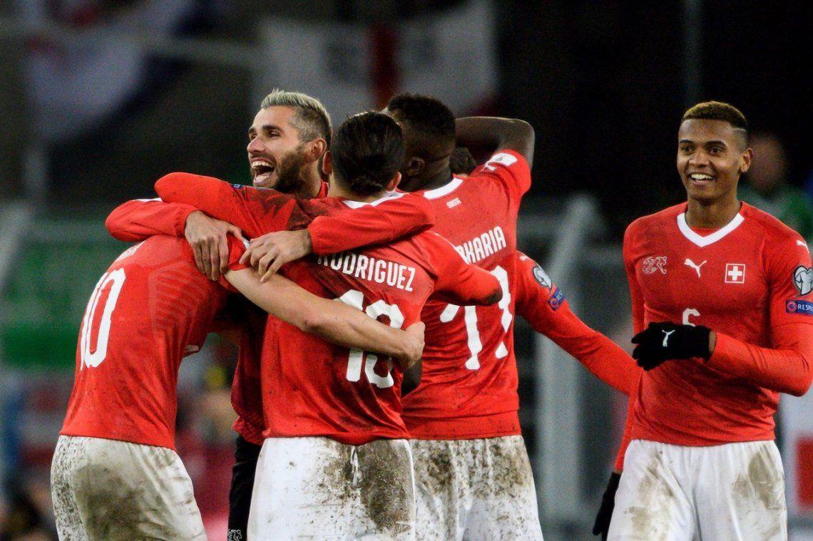 Suiza y Croacia, dos selecciones más que confirmaron su lugar en el Mundial