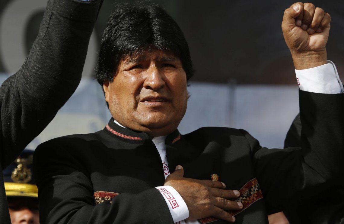 Bronca de Evo Morales contra ex presidentes