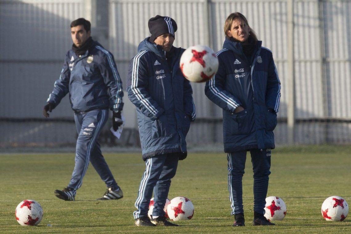 La Selección volvió a entrenar y Sampaoli prepara varios cambios