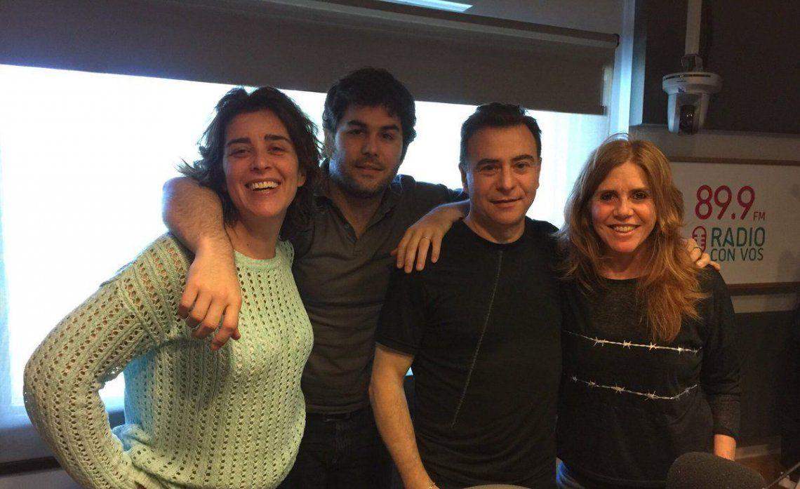 Sietecase la siguió en su programa de radio y contó detalles de los Martín Fierro