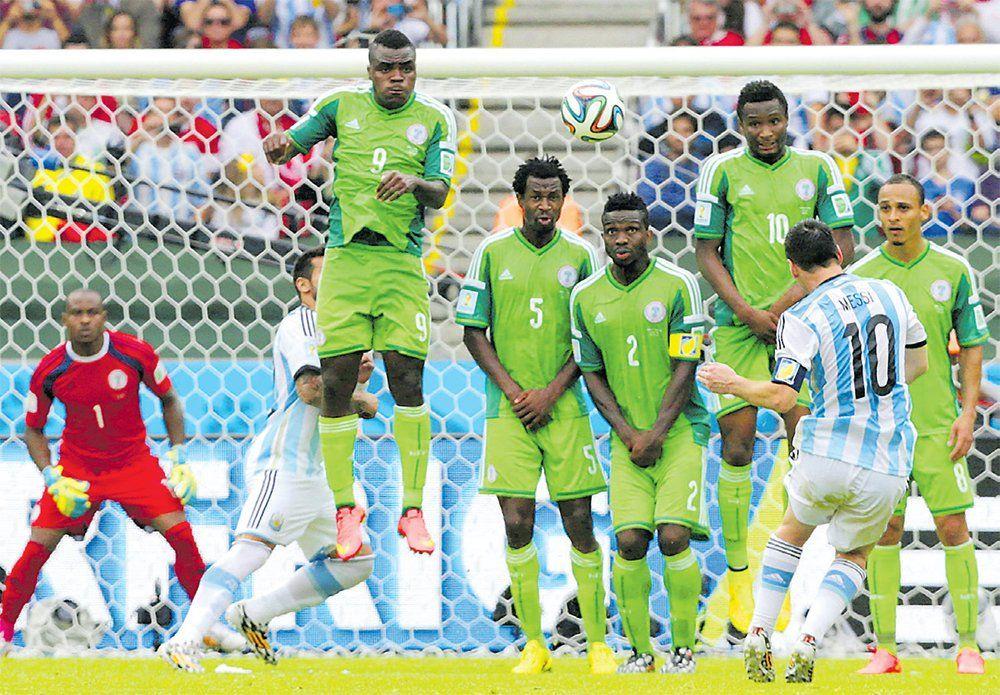 Argentina-Nigeria: un historial corto, con ventaja albiceleste