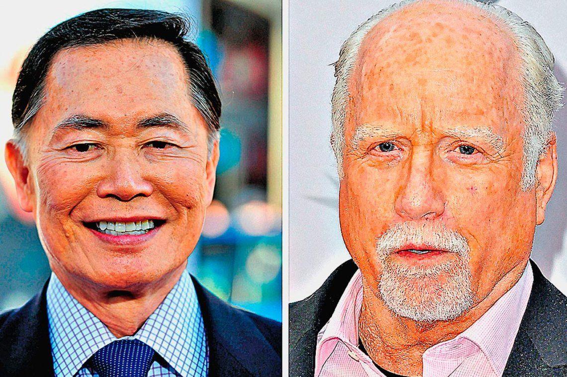 Takei y Dreyfuss niegan acusaciones de acoso sexual
