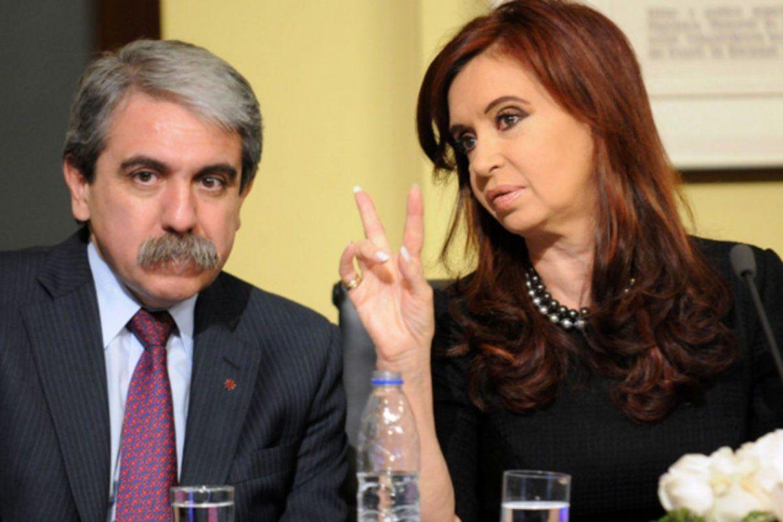 Aníbal Fernández y una dura carta contra Cristina Kirchner