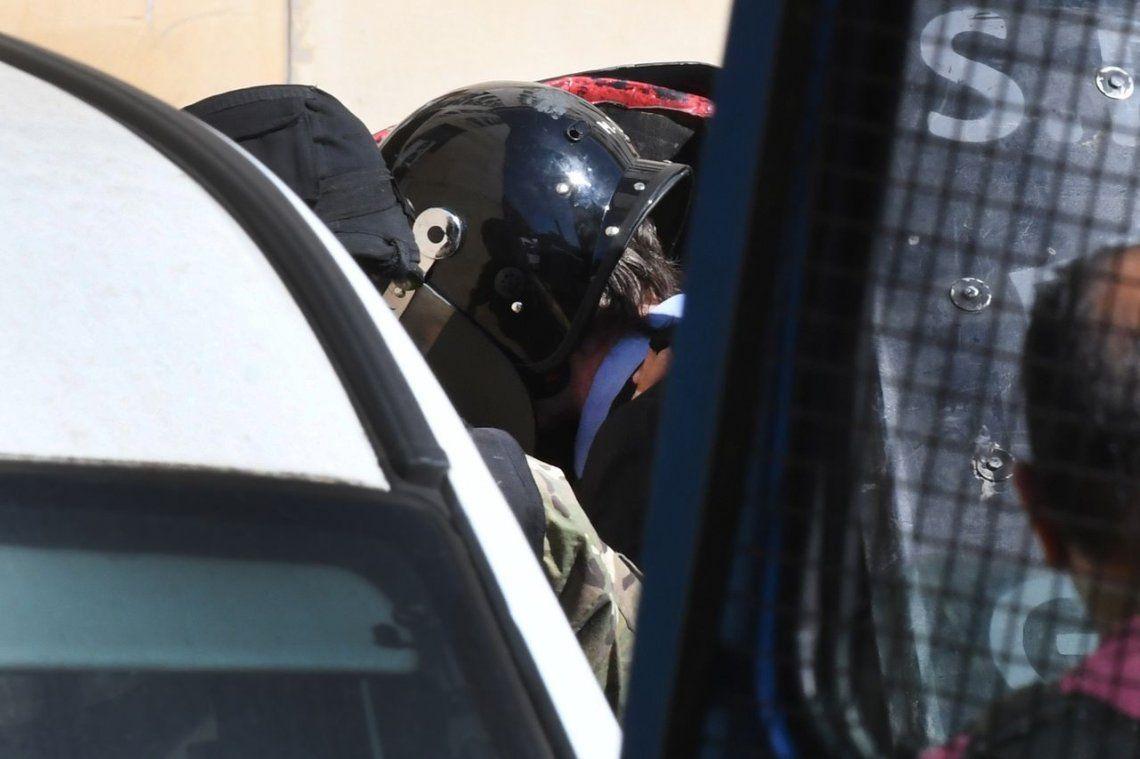 Tras escuchar la declaración de Capdevila, Boudou regresó al penal de Ezeiza