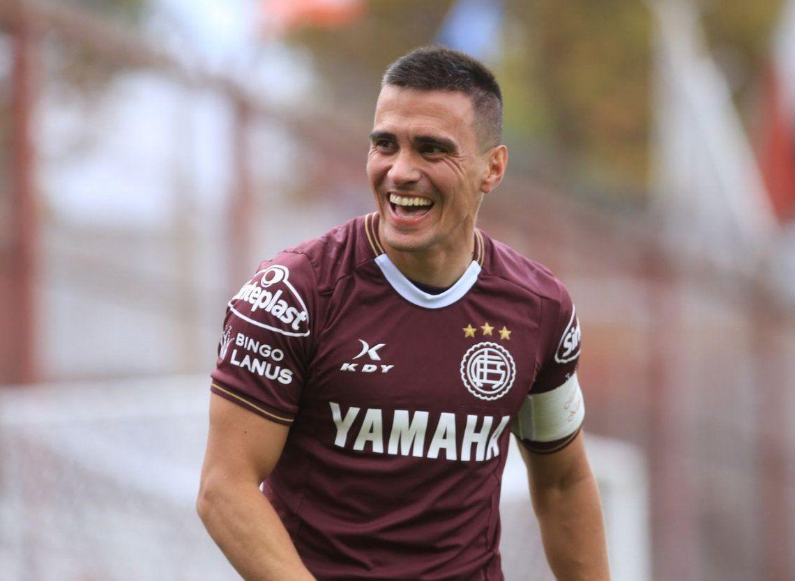 Para Velázquez, ganar la Libertadores con Lanús sería el broche de oro para su carrera