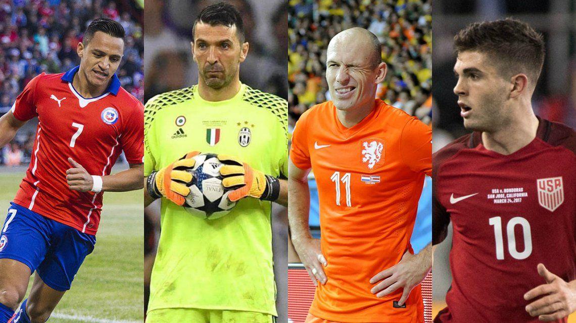 Estados Unidos convoca a la Copa del Mundo de los desahuciados