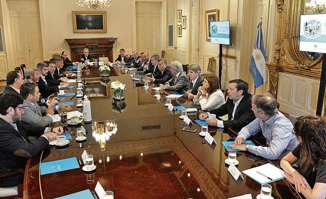 El presidente Macri mandó a su gente a defender la gestión