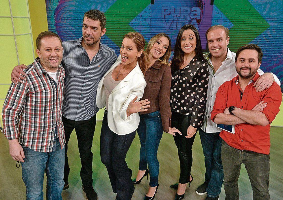 dLa Mazzocco y su equipo de Pura Vida