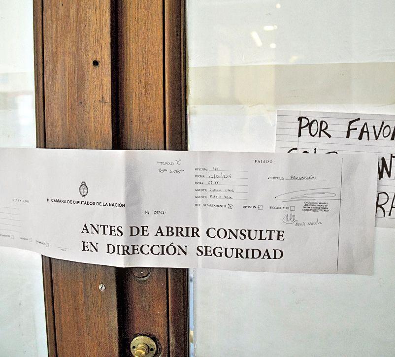 El despacho de Máximo Kirchner