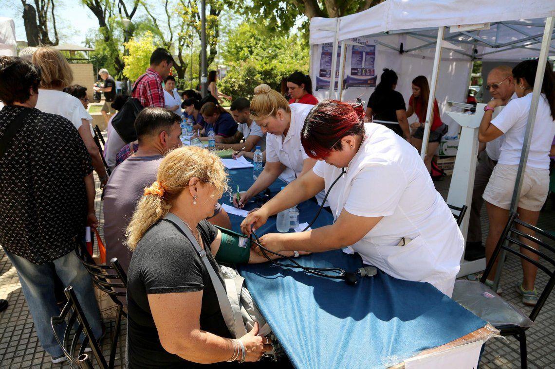 Semana de la Diabetes: realizan controles gratuitos en La Matanza