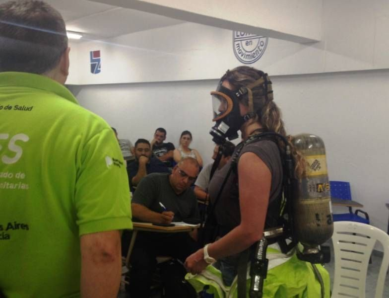 Same Provincia capacitó al equipo de emergencias de Lomas de Zamora