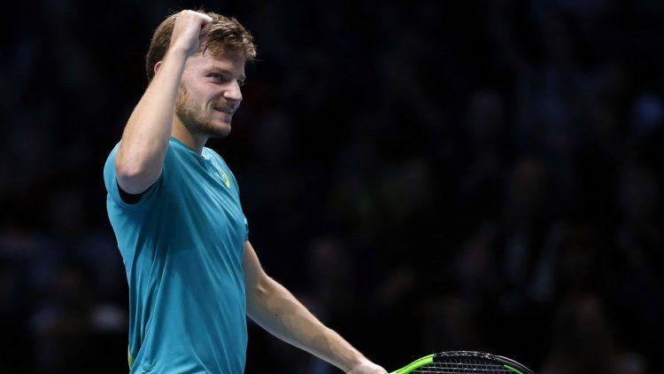 Goffin eliminó a Federer y dio la sorpresa en el Masters