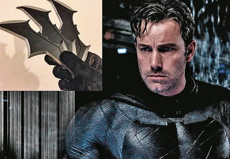 dEl clásico búmeran del hombre murciélago dejó en evidencia al actor.