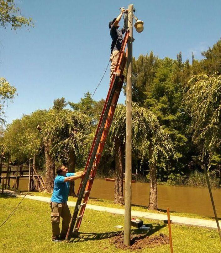 Mejoras lumínicas en el Delta y en continente