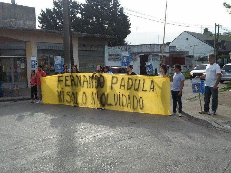 Marcha contra el olvido en San Justo