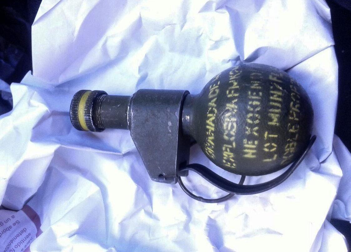 Cartonero halló una granada y casi hace volar su vivienda