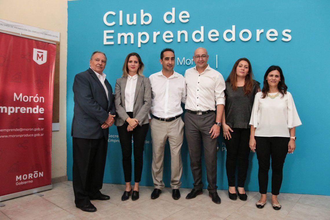 Se puso en marcha el Club de Emprendedores en Morón