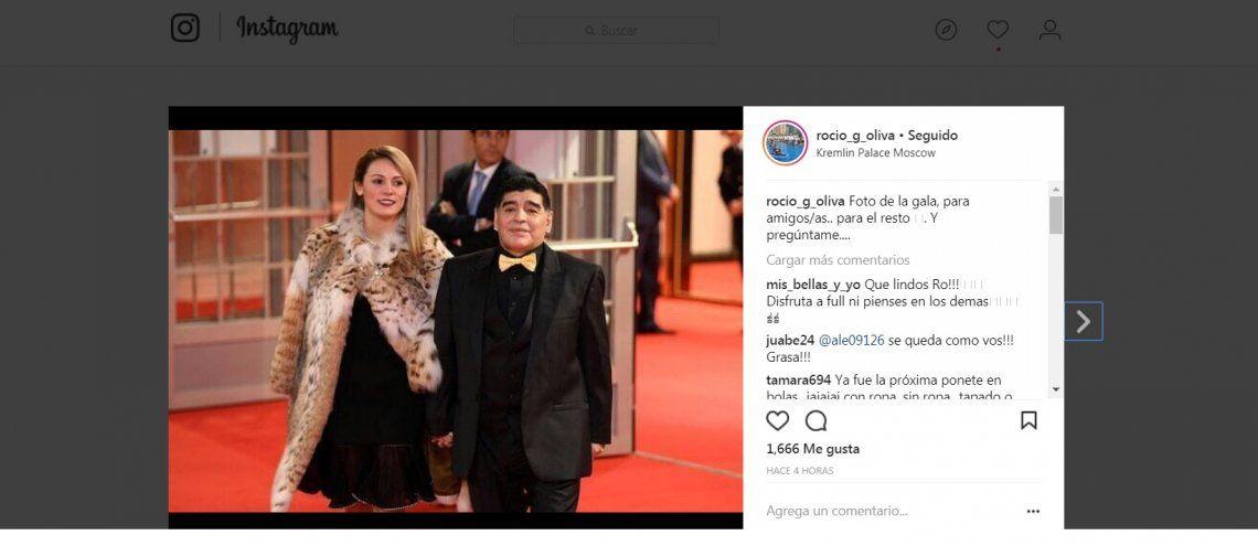 Sorteo del Mundial: a Rocío le pegaron por el look... y ella respondió