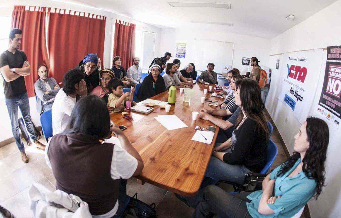 Mapuches aceptaron el acceso de peritos judiciales al predio en Villa Mascardi