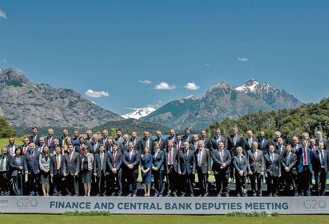 dParte de los especialistas que delinean el futuro de la Cumbre del G-20 en San Carlos de Bariloche.