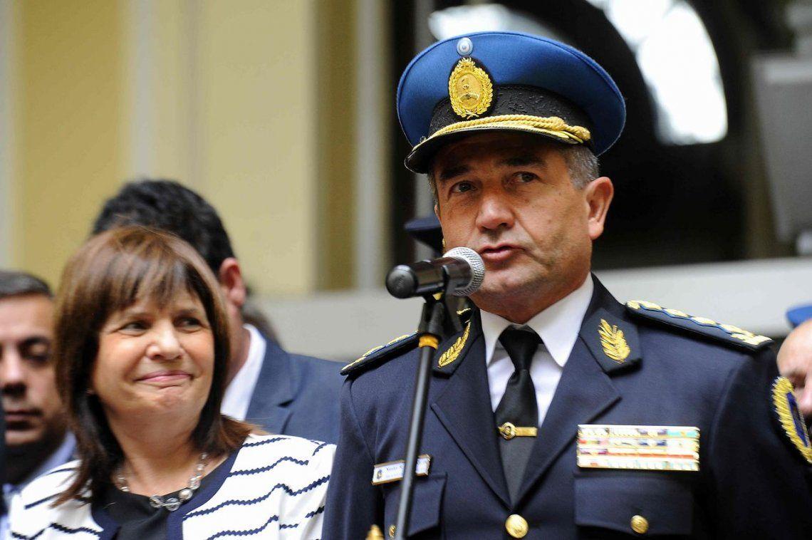 Los cambios en la cúpula de la Policía Federal anunciados por el Jefe de la fuerza