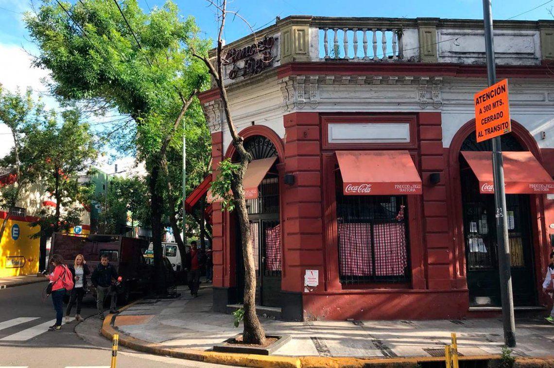 Balvanera: cocinero mató a mozo de una puñalada en un restaurante