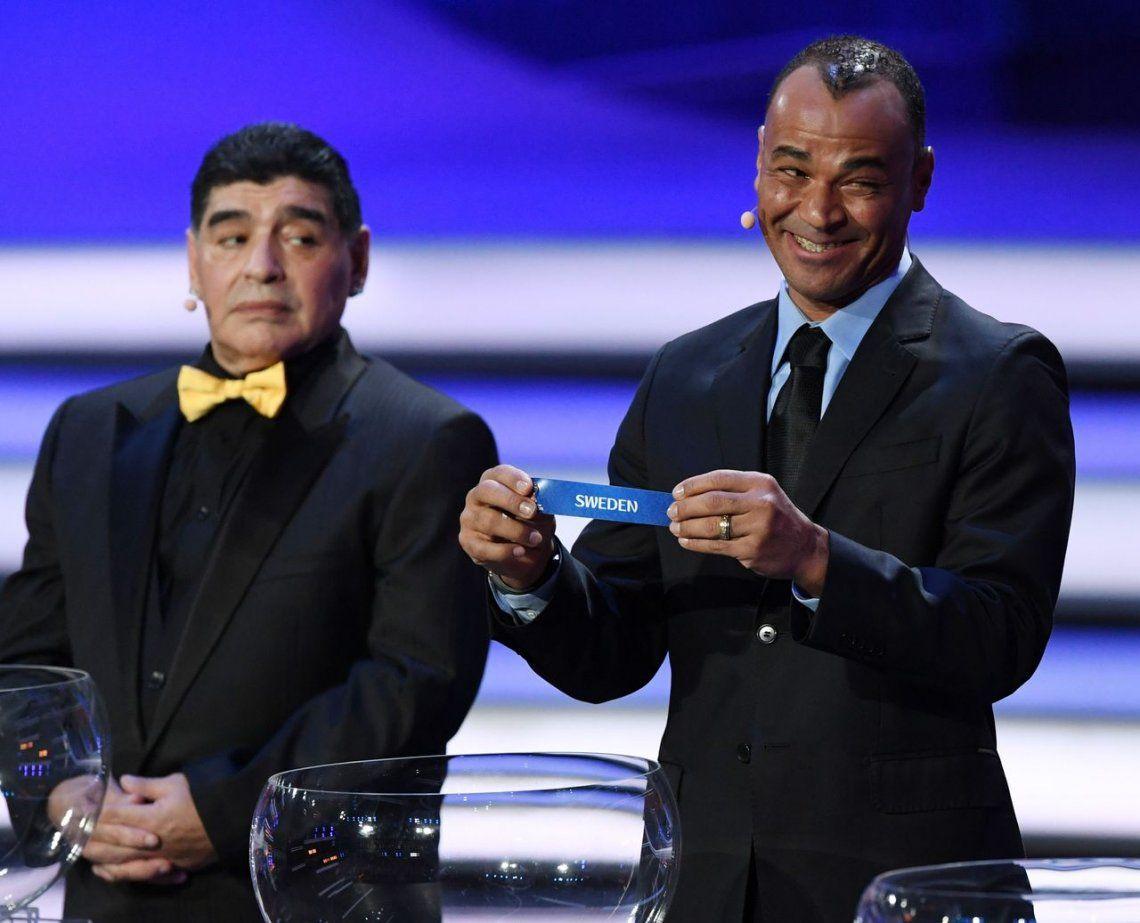 La jugada de Maradona